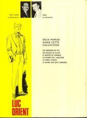 Verso de Luc Orient -6- Le secret des 7 lumières