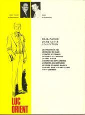 Verso de Luc Orient -10- Le 6ème continent