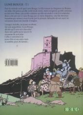Verso de Lune rouge -1- Les secrets de M. Bran