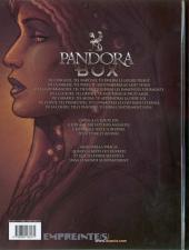 Verso de Pandora Box -1- L'orgueil