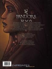 Verso de Pandora Box -3- La gourmandise