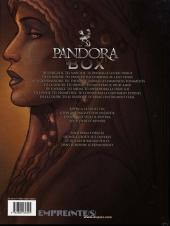 Verso de Pandora Box -4- La luxure