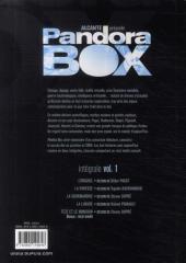Verso de Pandora Box -INT1- Volume 1 (T01 à T04)