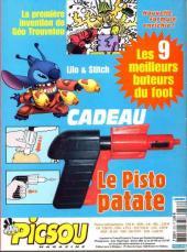 Verso de Picsou Magazine -373- Picsou Magazine N°373