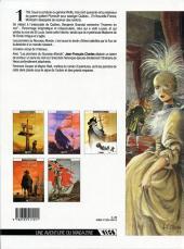 Verso de Les pionniers du Nouveau Monde -5- Du sang dans la boue