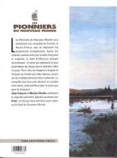 Verso de Les pionniers du Nouveau Monde -10- Comme le souffle d'un bison en hiver