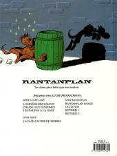 Verso de Rantanplan -5- Bêtisier 1