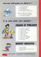 Verso de Les schtroumpfs -5- Les Schtroumpfs et le Cracoucass