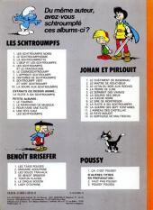 Verso de Les schtroumpfs -10- La soupe aux Schtroumpfs