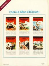 Verso de La seconde guerre mondiale - Histoire B.D. / Bande mauve -7- Afrika Korps - La guerre du désert