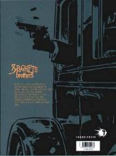 Verso de Spaghetti Brothers (réédition en 16 tomes) -2- Tome 2