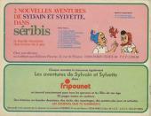 Verso de Sylvain et Sylvette (03-série : Fleurette nouvelle série) -55- Un drôle d'oiseau