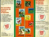 Verso de Sylvain et Sylvette (03-série : Fleurette nouvelle série) -6- Les compères font du cirque