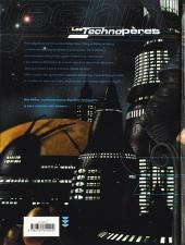 Verso de Les technopères -3- Planeta Games