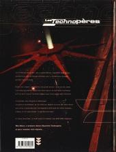 Verso de Les technopères -4- Halkattraz, l'étoile des bourreaux