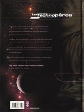 Verso de Les technopères -5- La secte des Techno-évêques