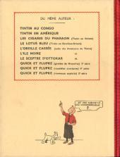 Verso de Tintin (Fac-similé N&B) -9- Le crabe aux pinces d'or