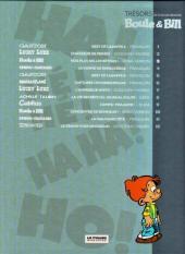 Verso de Les trésors de la bande dessinée -3- Boule et Bill - Nos plus belles bêtises !