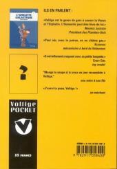 Verso de Voltige et Ratatouille -1- L'omelette galactique