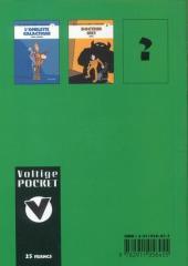 Verso de Voltige et Ratatouille -2- Docteur Niet