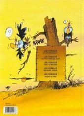 Verso de Les voraces -5- Les voraces volent au vent