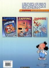 Verso de Zapping generation -3- Trop fort