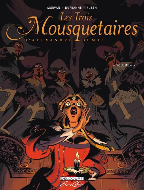 Couverture de Les trois Mousquetaires (Rubén) -4- Volume 4