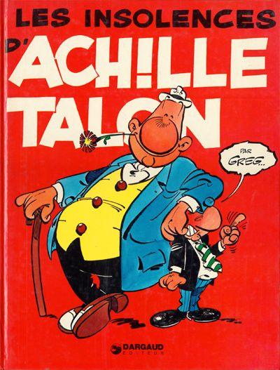 Couverture de Achille Talon -7- Les insolences d'Achille Talon