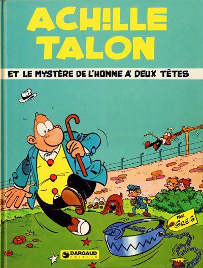 Couverture de Achille Talon -14- Achille Talon et le mystère de l'homme à deux têtes