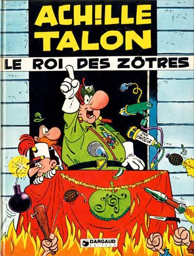 Couverture de Achille Talon -17- Le roi des Zôtres