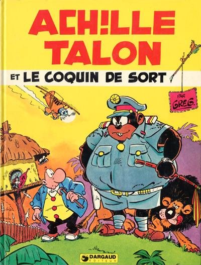 Couverture de Achille Talon -18- Achille Talon et le coquin de sort