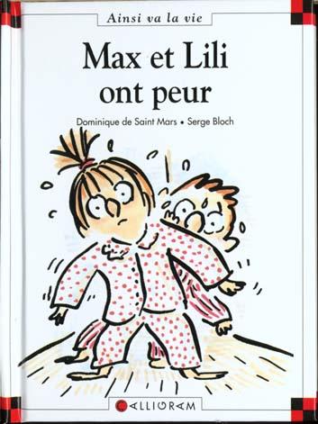 Couverture de Ainsi va la vie (Bloch) -17- Max et Lili ont peur