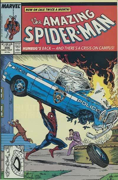 Couverture de Amazing Spider-Man (The) (1963) -306- Humbugged!