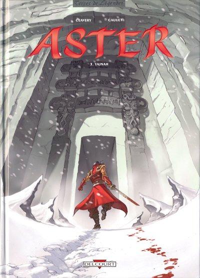 Couverture de Aster -3- Yajnah