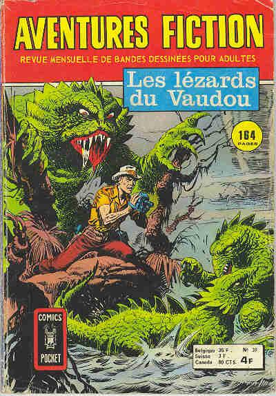 Couverture de Aventures fiction (2e série) -39- Les lézards du vaudou