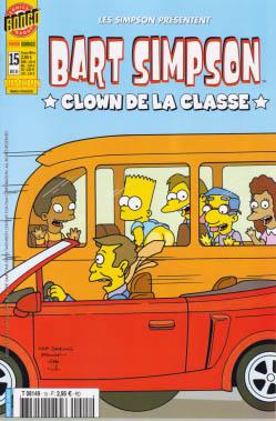 Bart simpson panini comics 15 clown de la classe - Simpson le clown ...