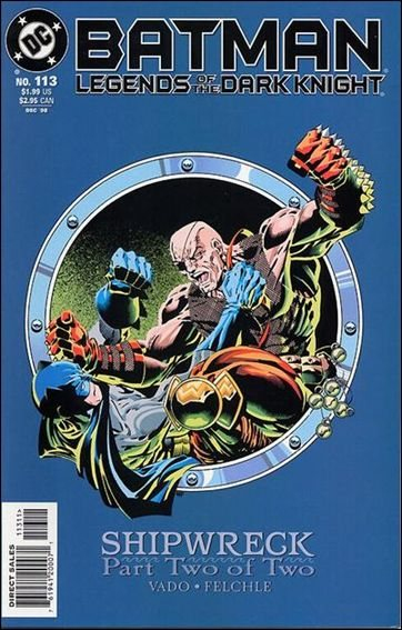 Couverture de Batman: Legends of the Dark Knight (1989) -113- Shipwreck part 2