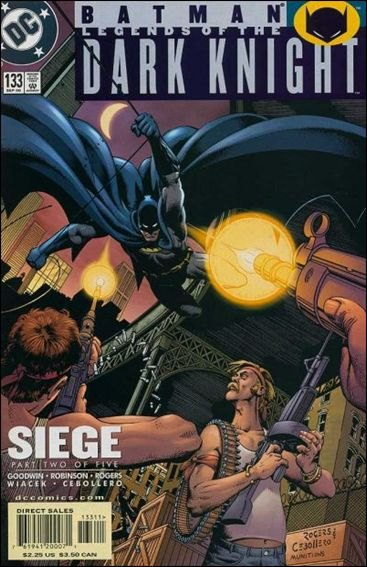 Couverture de Batman: Legends of the Dark Knight (1989) -133- Siege part 2 : assault