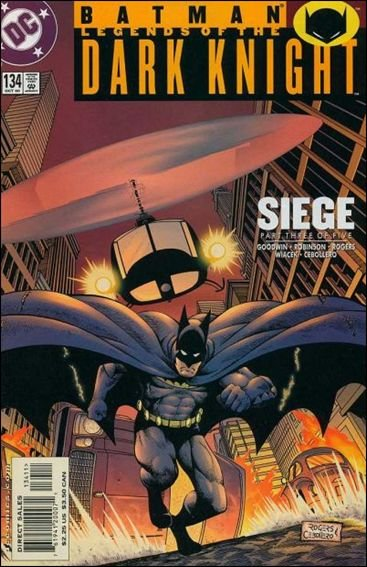 Couverture de Batman: Legends of the Dark Knight (1989) -134- Siege part 3 : breach