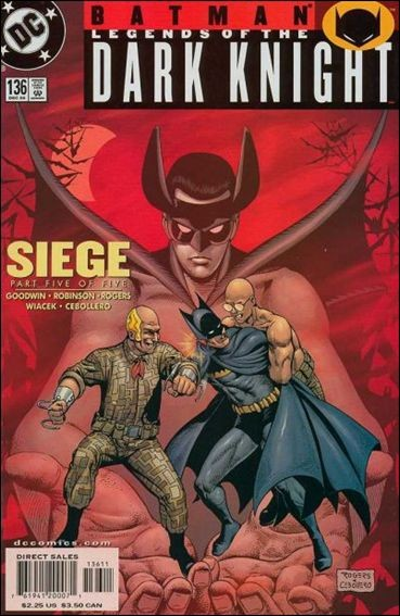 Couverture de Batman: Legends of the Dark Knight (1989) -136- Siege part 5 : defense