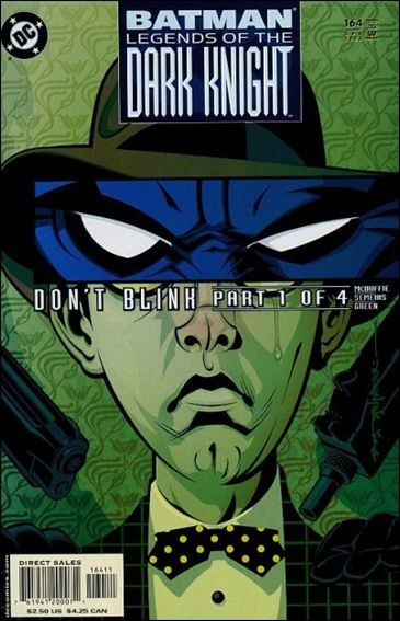 Couverture de Batman: Legends of the Dark Knight (1989) -164- Don't blink part 1