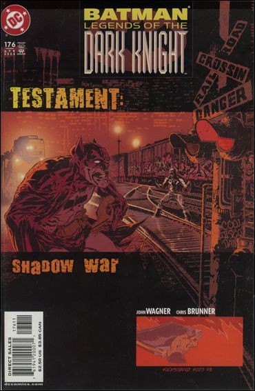 Couverture de Batman: Legends of the Dark Knight (1989) -176- Testament : shadow war