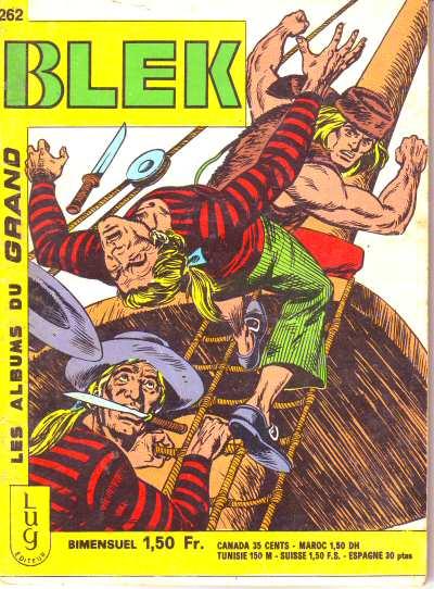 Couverture de Blek (Les albums du Grand) -262- Numéro 262