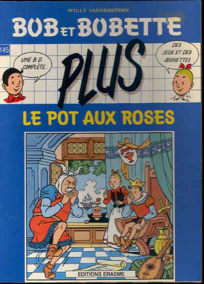 bob et bobette 145 le pot aux roses