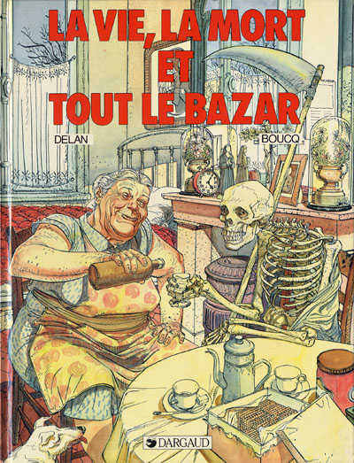 Boucq 2 tomes La vie, la mort & Un point c'est tout
