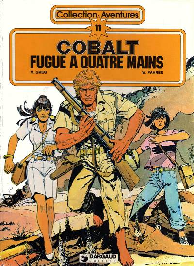 Cobalt Tome 1 : Fugue � quatre mains