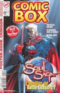 Couverture de Comic box (1° série) -22- Comic Box 22