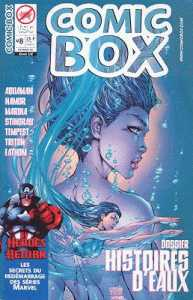 Couverture de Comic box (1° série) -8- Comic Box 8 Couverture Fathom (1/2)