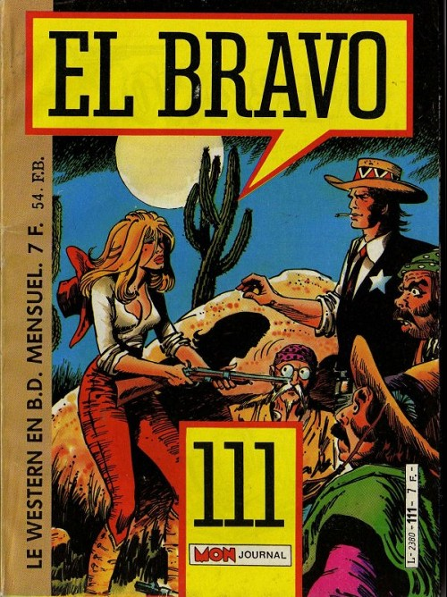 Couverture de El Bravo (Mon Journal) -111- La loi des Shoshoni