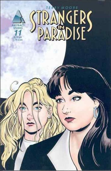 Couverture de Strangers in Paradise (1996) -11- Immortal enemies